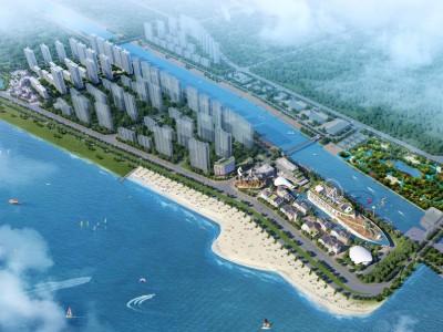 启东十里海湾打造有海盗船科技馆、艺术中心等