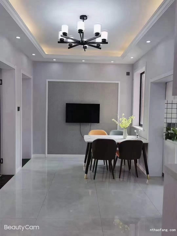 新建新村,6楼,两室朝南,全新精装,租1600-2200元   电器全新
