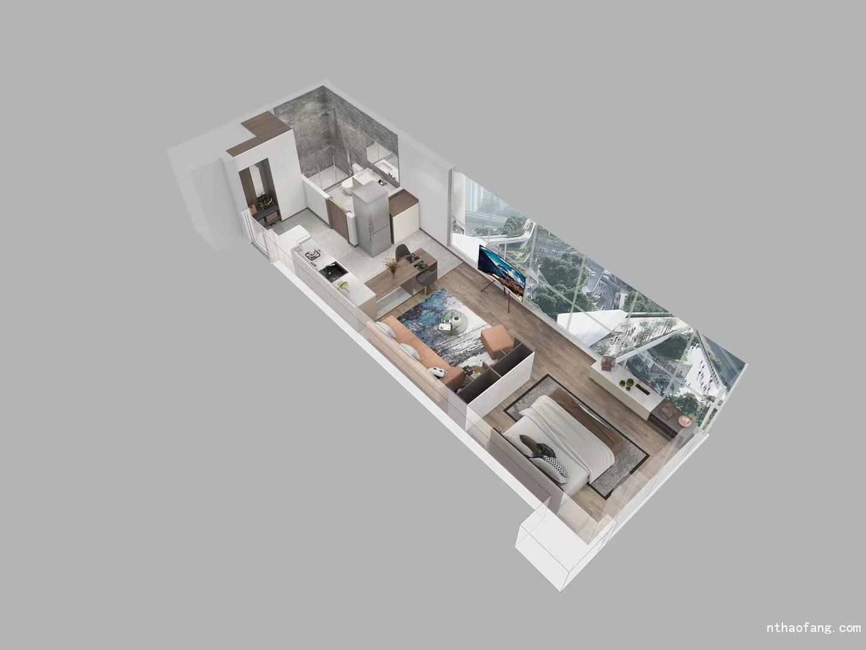 融创时代中心公寓